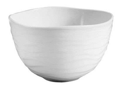 Vas - wave bowl white large